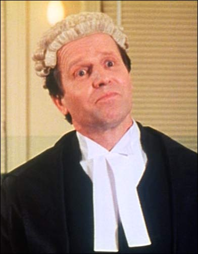 "As Mr Lyle QC in ""The Castle"" - Working Dog (1997)"